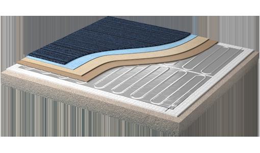muestra-calefacción-piso-radiante-con-doble-recubrimiento