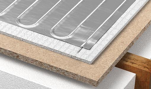 detalles-de-calefacción-de-piso-lamina-de-aluminio
